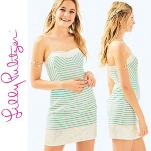 NWT Lilly Pulitzer Blue Horizon Bayview Dress